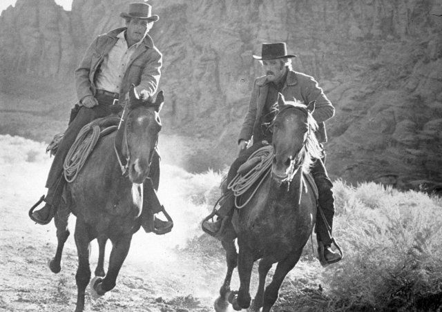 Butch Cassidy and the Sundance KidPaul Newman, Redford Ahorseback, Public Photos, Kids 1969, Robert Redford, Events Photos, Sundance Kids, First Pictures, Butch Cassidy