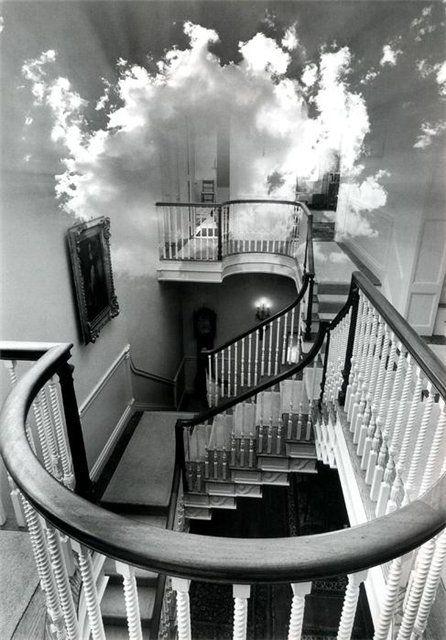 Jerry Uelsmann - photo manipulation
