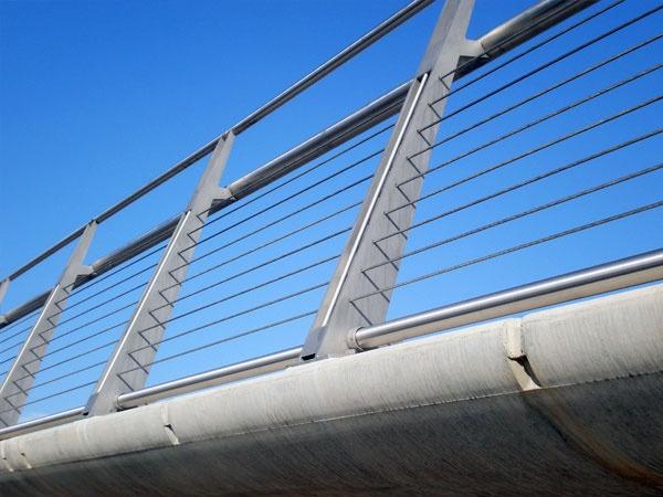 North Shore Footbridge Stockton On Tees Footbridge Wire