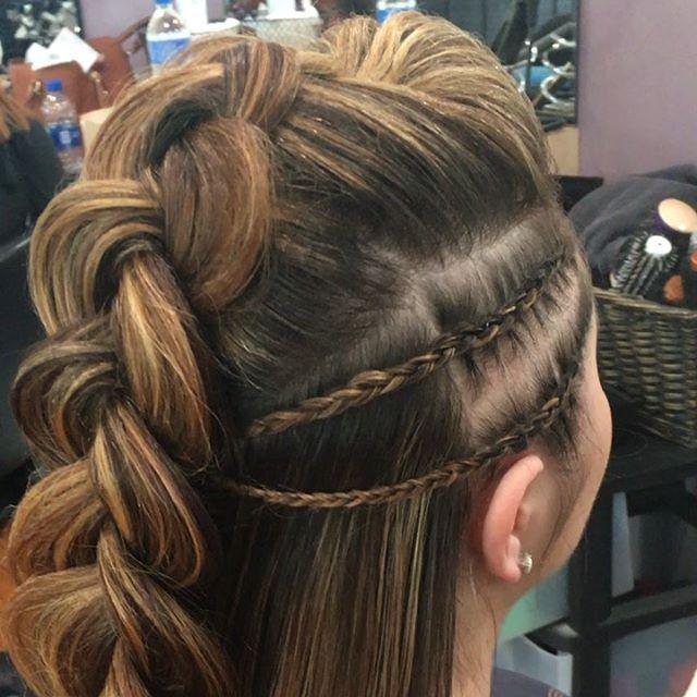 39 Neu Frisur Halboffen – Frisuren Damen – #Damen…