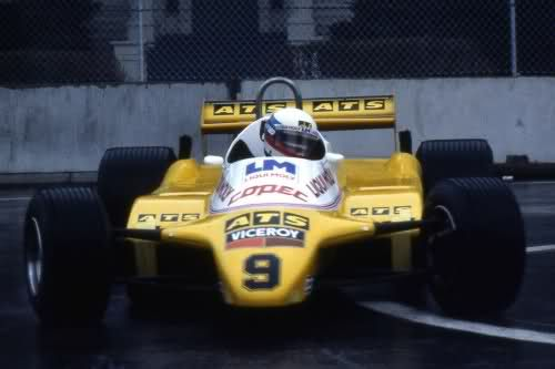 1982 GP Brzylii (Manfred Winkelhock) ATS D5 - Ford