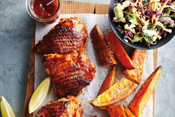 Try this chicken barbecue recipe and allow the full 3 hours marinating time to maximise finger-sticking goodness. The whole family will enjoy this one.