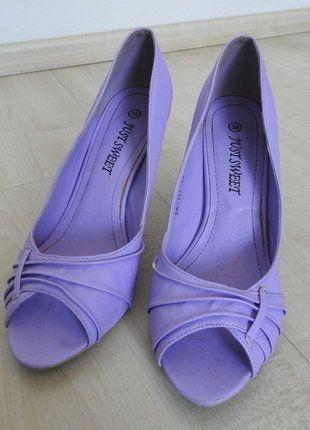Highheels Peeptoes Lilac