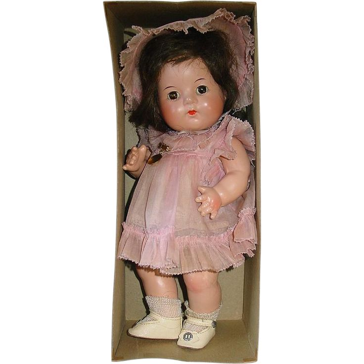 """Vintage Alexander 11"""" Dionne Quintuplet Quint YVONNE ~ Mint in Box from kathescollectibles on Ruby Lane"""