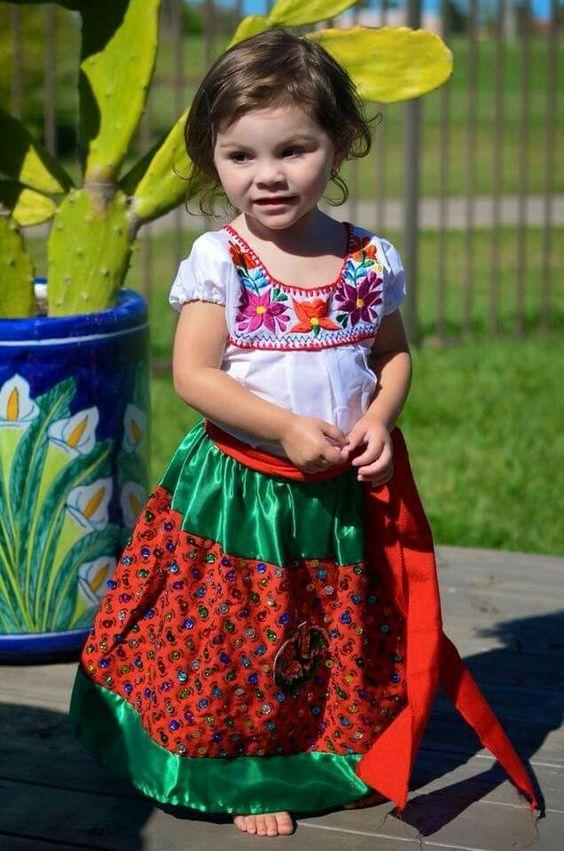 Vestidos para ninas para fiesta mexicana