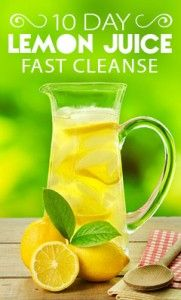 Lemon Juice Cleanse. Starting this tomorrow, let's see if it will kick my habits of bad eating.