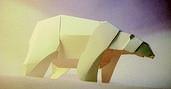 Duarte PaperArt #polar #bear #paper $6.45