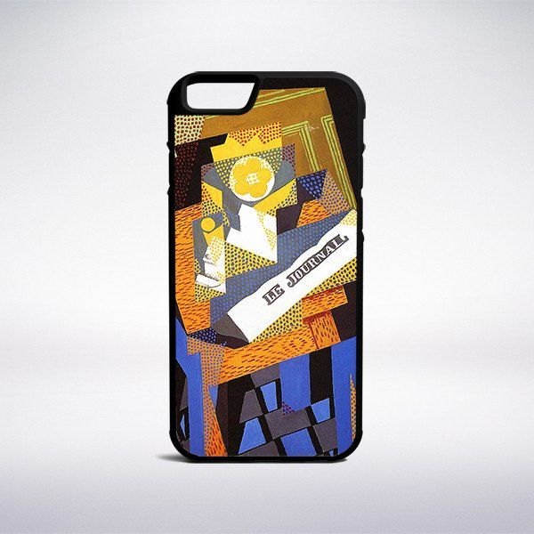 Juan Gris - Newspaper And Fruit Dish Phone Case – Muse Phone Cases