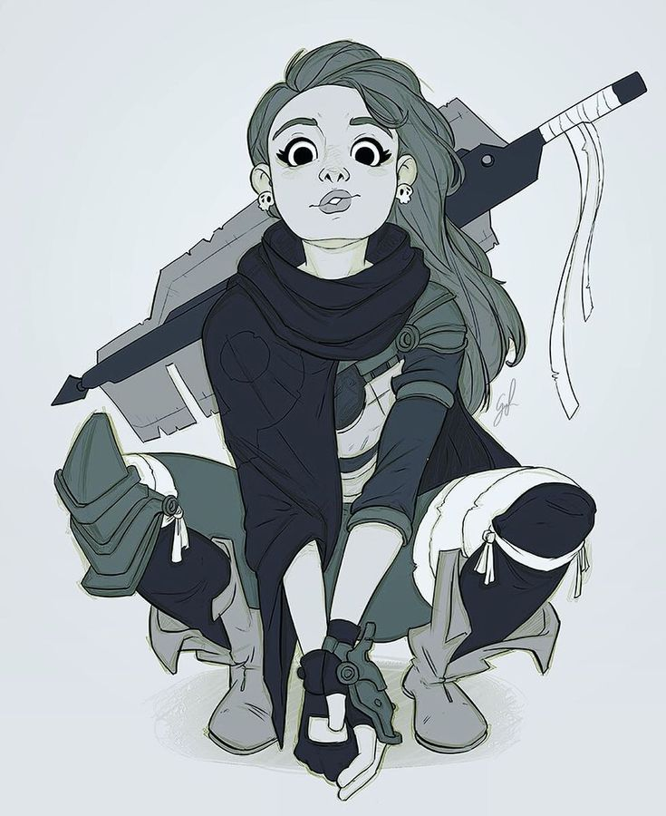 Meet Lana!  Working on some designs for a very special project while we're following all your AMAZING entries for our contest!! .:. #scavenger #characterdesign #postapocalyptic #badassgirl #dystopia