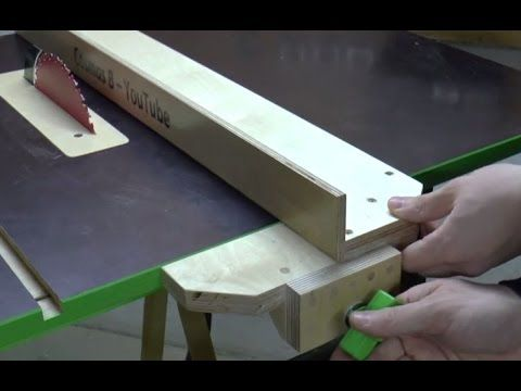 A Home-Made Jobsite Table Saw | Tools of the Trade | Home-Made and Modified Tools, Jobsite Equipment, Saws, Stationary Tools, Table Saws, Coring and Cutting, Jobsite Technology, Consumer Product Safety Commission, Bosch