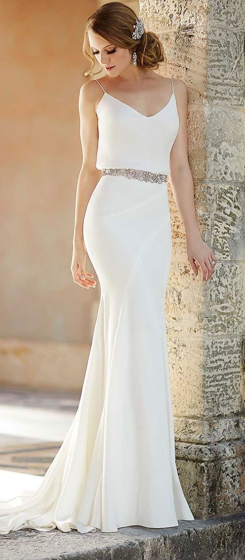 45 best BEACH WEDDING DRESSES images on Pinterest Wedding
