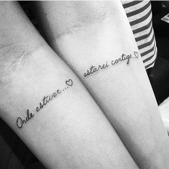 10 tatuagens para mães e filhas eternizarem o amor (com imagens) | Tatuagem mae, Tatuagem, Tatuagem de casal delicada