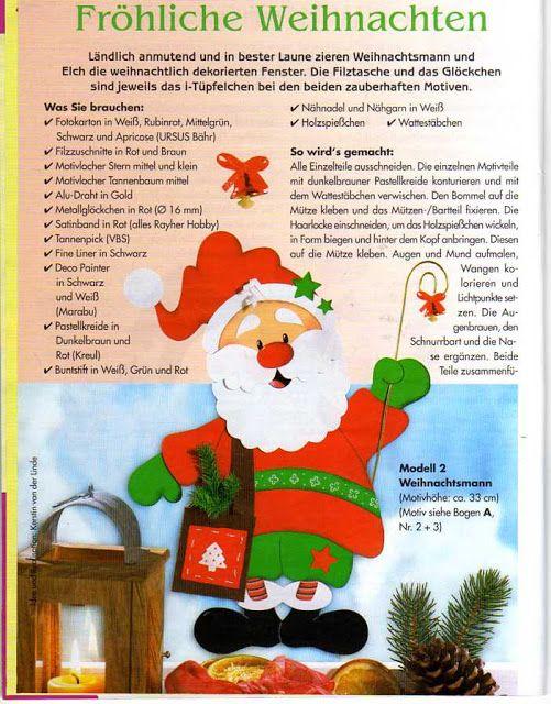 Creativ Idee - Fensterbilder Winter und Weihnachten (Nr.66) - Muscaria Amanita - Λευκώματα Iστού Picasa