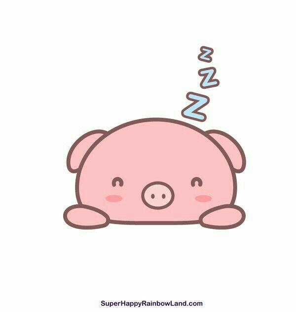 Pin by marii iba on chanchitos pinterest kawaii and - Pig wallpaper cartoon pig ...