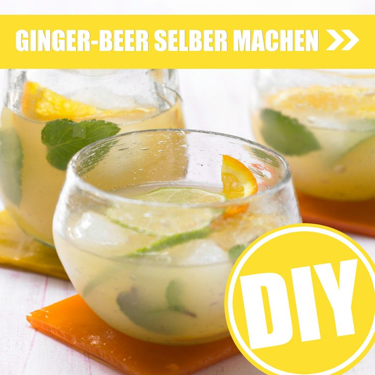 Es ist spitzig, es ist scharf, es schmeckt pur und gemixt: Ginger Beer! Wir zeigen, wie du die prickelnde Köstlichkeit selbst machen kannst. Perfekt für Sommerpartys und zum Verschenken! http://eatsmarter.de/ernaehrung/ginger-beer-selber-machen