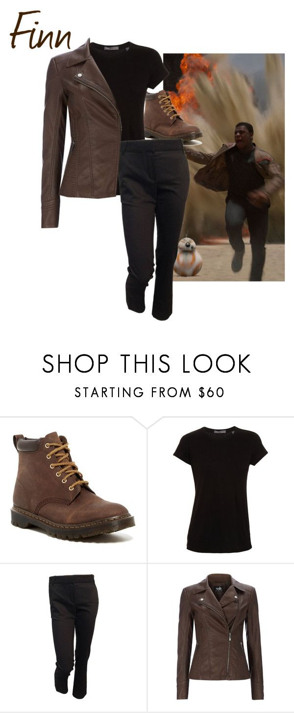"""Finn - Star Wars The Force Awakens"" by ava-adams123 ❤ liked on Polyvore featuring Dr. Martens, Vince, Louis Vuitton, starwars and forceawakens"