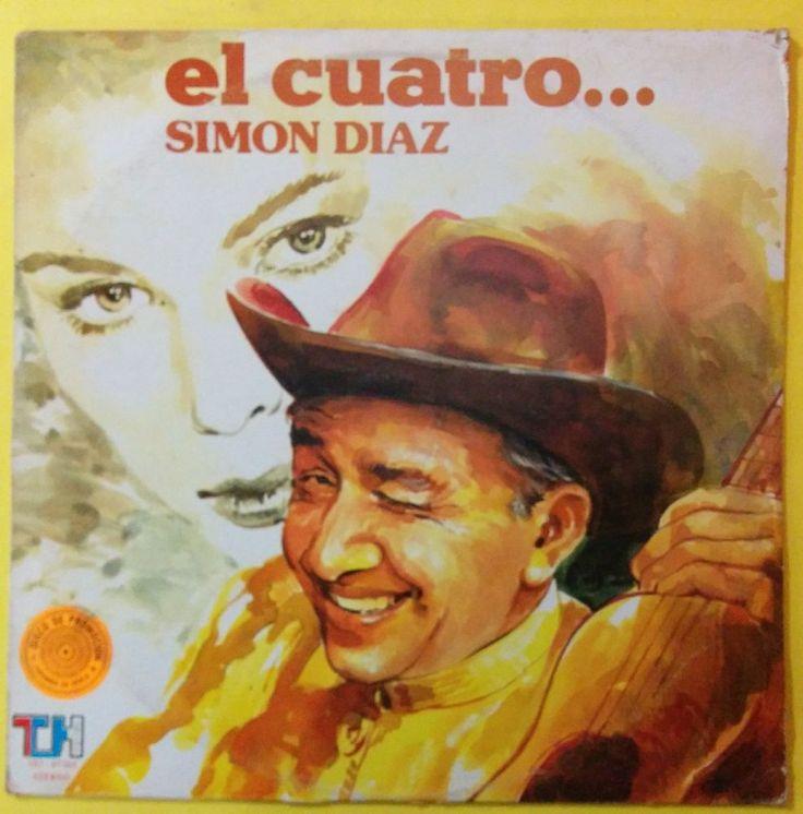 SIMON DIAZ - EL CUATRO Y EL INTERES - PROMOTIONAL - VENEZUELA ISSUE