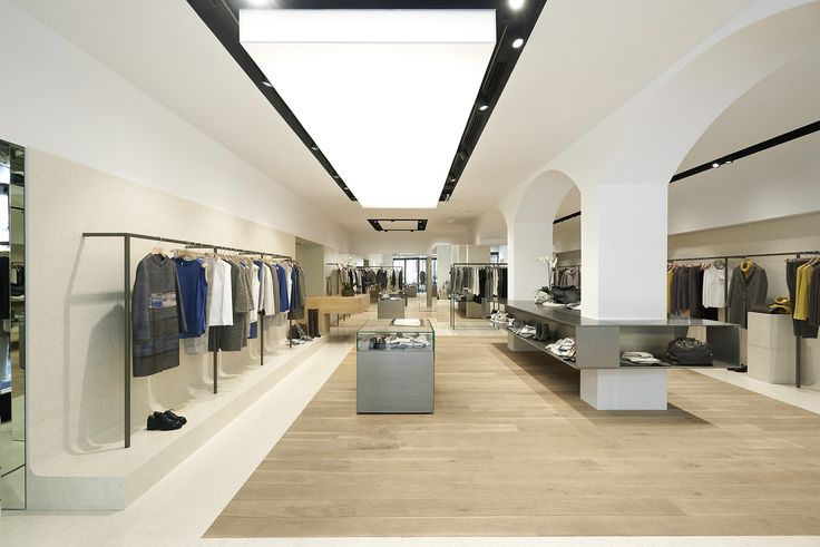 C&P Architetti Peserico shop in Florence - Italy Photo: Luca Chillesotti
