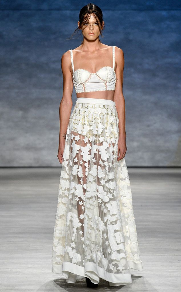Falguni and Shane Peacock from Best Looks From New York Fashion Week Spring 2015