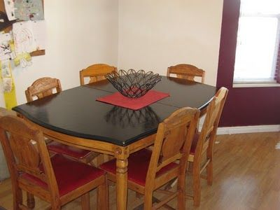 Best 25 Table Top Redo Ideas On Pinterest Dining Table
