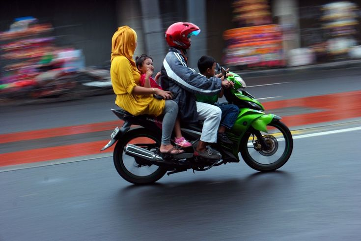 Love your family... Use helmets by neilstha firman