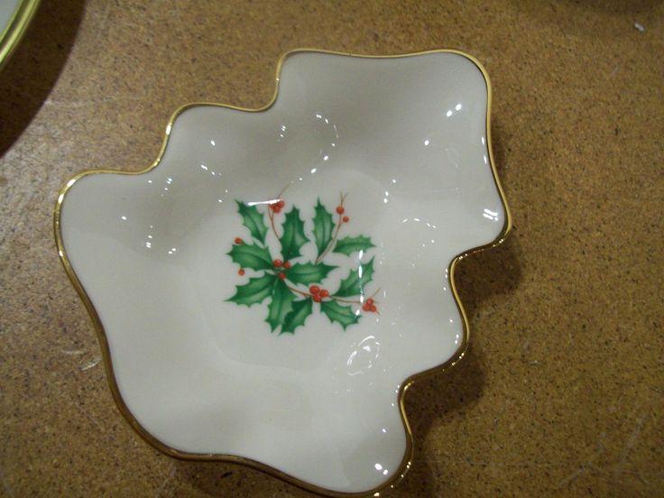 LENOX HOLIDAY China Tree shaped small dish ... & 88 best Lenox Holiday China images on Pinterest   Board Cutlery and ...