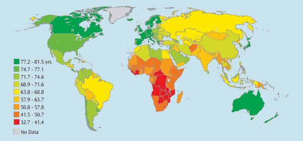 Life Expectancy Source: http://www.theglobaleducationproject.org/earth/human-conditions.php#2