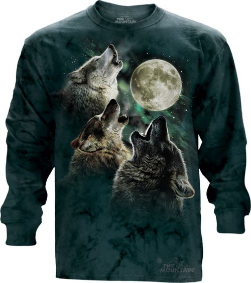 Three Wolf Moon Classic Long Sleeve T-Shirt