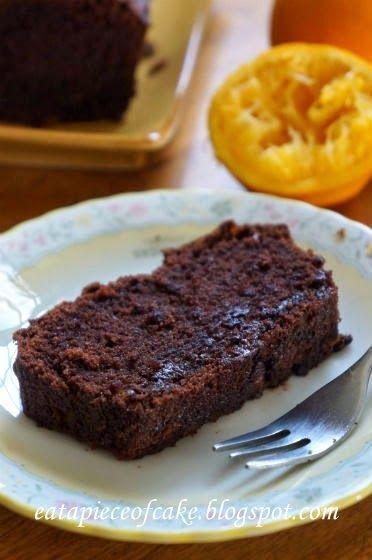 Piece of Cake: Orange Chocolate Cake