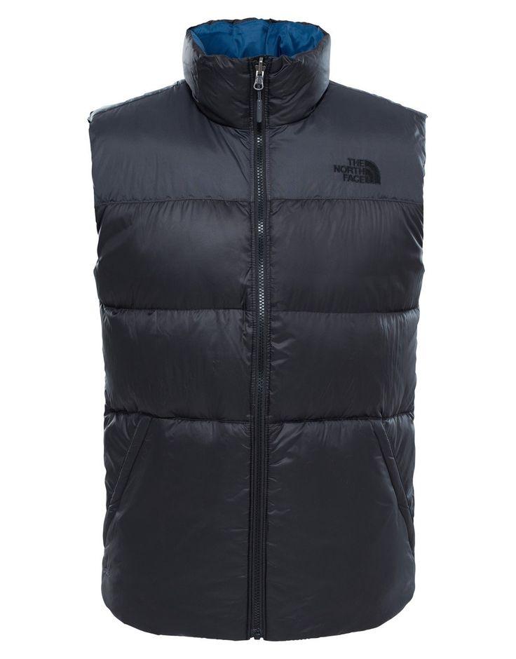 Mens Nuptse III Vest - Asphalt Grey - Medium Grey: The North Face Mens Nuptse III Vest is a great cold weather insulation… #OutdoorGearUK