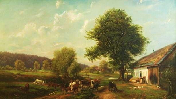 Amálie Mánesová.  Na přání svého otce Antonína Mánesa se věnovala krajinářství. Svými pedagogickými aktivitami zajišťovala chod domácnosti, v níž žila se dvěma umělecky činnými bratry.