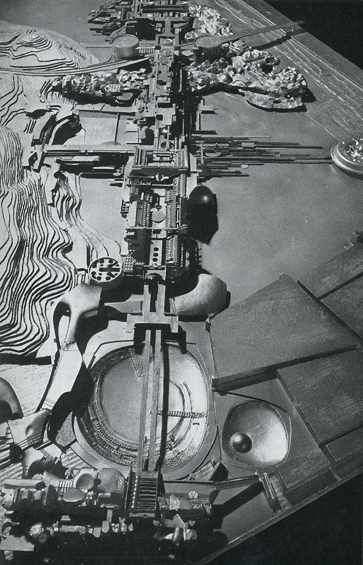 Estructura Urbana | Leonardo Savioli y alumnos | Florencia | 1966-67