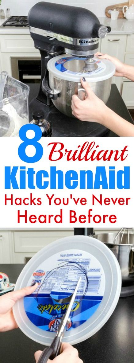 These 8 Brilliant KitchenAid hacks are THE BEST! I'm so glad I found these AMAZING tips and tricks! Now I can save time with my cooking and even during the holidays! Definitely pinning!