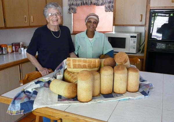 Home made bread - South African style