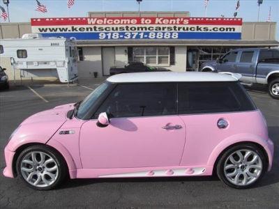 Pink MINI Cooper S