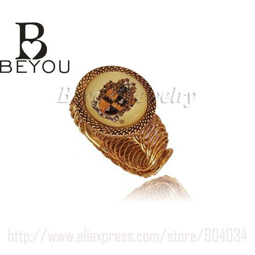 greek group brother ALPHA PHI ALPHA shield logo custom Fraternity cuff bangle Jewelry www.bernysjewels.com #bernysjewels #jewels #jewelry #nice #bags