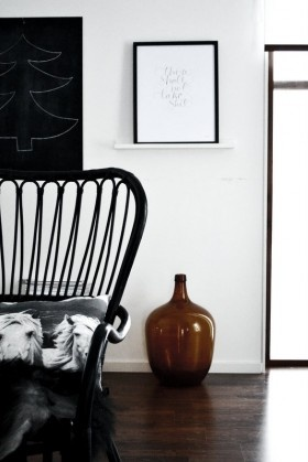 Styling By Johanna Pilfalk Storsele High Back Armchair