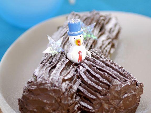 Bûche de Noel ist ein Rezept mit frischen Zutaten aus der Kategorie Schokoladenkuchen. Probieren Sie dieses und weitere Rezepte von EAT SMARTER!