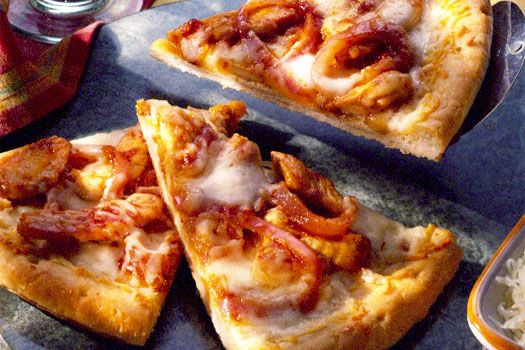 Barbecued Chicken Pizza | Sargento.com | Shred of the Month | Pintere ...