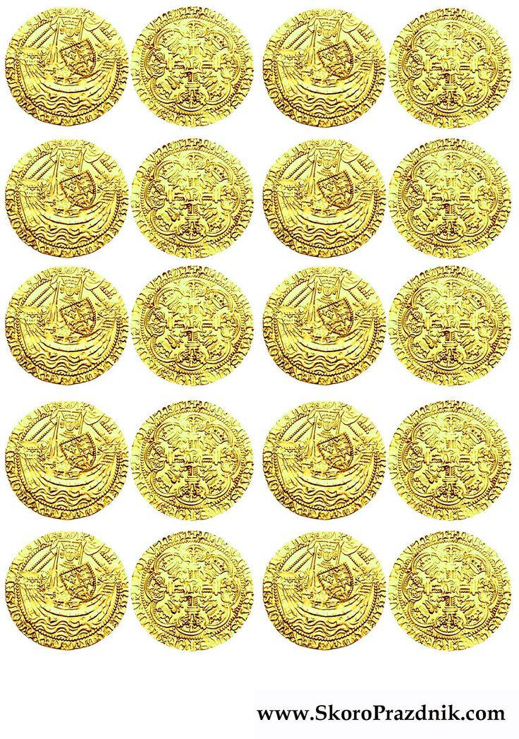 Скоро Праздник: Золотые Монеты и Черные Метки