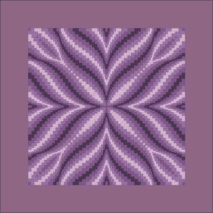 Free Bargello Patterns | violet flower bargello on 14 ct aida salmon flower bargello, bargello needlepoint