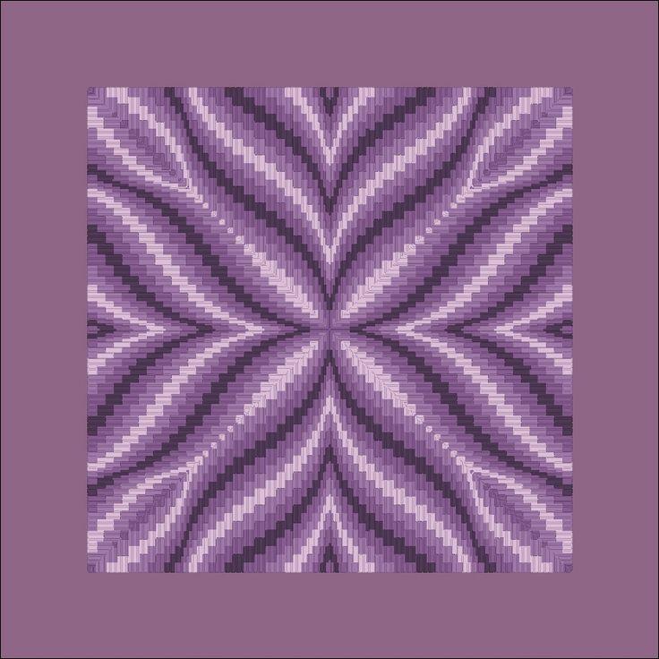 Free Bargello Patterns | violet flower bargello on 14 ct aida salmon flower bargello, bargello needlepoint