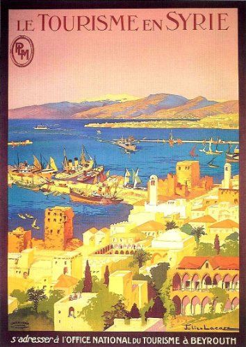 Fantastic A4 Glossy Print - 'Le Tourisme En Syrie' - Taken From A Rare Vintage Travel Poster (Vintage Travel / Transport Posters) by Unknown http://www.amazon.co.uk/dp/B006M4MBUK/ref=cm_sw_r_pi_dp_F3kovb0GWH9Q3