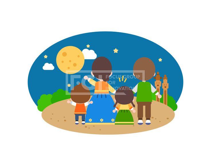 SILL240, 프리진, 일러스트, 전통, 가족, 추석, 설날, 명절, 새해, 시골, 귀경길, 한복, 저고리, 가을, 명절귀경길, 생활, 라이프, 라이프스타일, 벡터, 에프지아이, 사람, 캐릭터, 웃음, 미소, 귀여운, 교통, 플랫, 심플, 이야기, 여자, 남자, 4인, 엄마, 아빠, 어린이, 여자어린이, 남자어린이, 단체, 손짓, 서있는, 뒷모습, 소원, 소원빌기, 보름달, 정승, 밤, 밤하늘, 별, illust, illustration #유토이미지 #프리진 #utoimage #freegine 20066185
