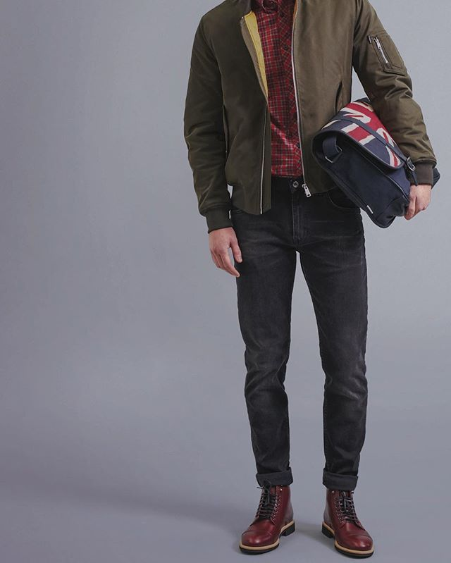 Head to toe in #BenSherman
