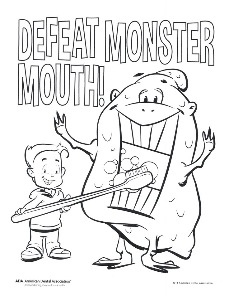 Smile partners wa coloring pages find this pin and more on childrens dental health month