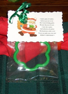 Cookie Cutter And Poem Christmas Pinterest Cookie