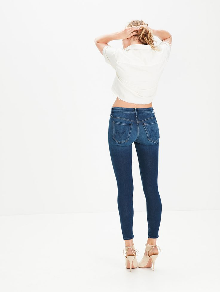MOTHER DENIM | High Waisted Looker - High Rise - DENIM