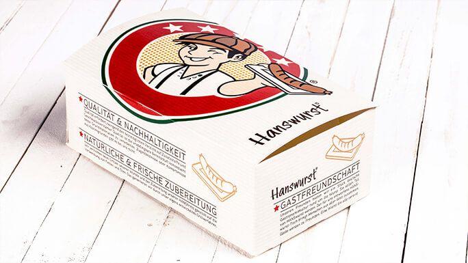 Hanswurst - food service packaging design