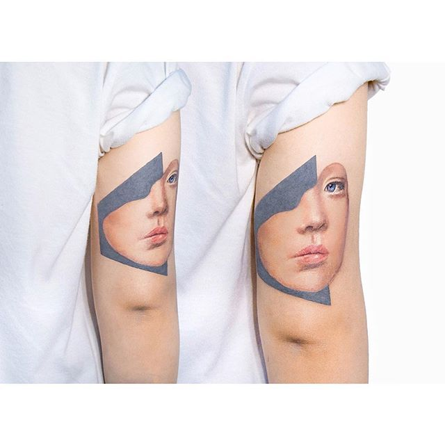 Lovely piece! http://blog.tattoodo.com/2015/09/10-graphic-tattoo-artists-follow-instagram/